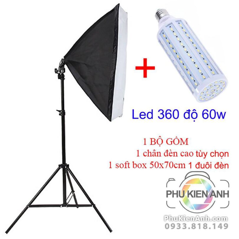 combo-1-chan-den-+-softbox-1-duoi-den-+-led-360-60w