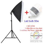 combo-1-chan-den-+-softbox-1-duoi-den-+-led-bulb-50w