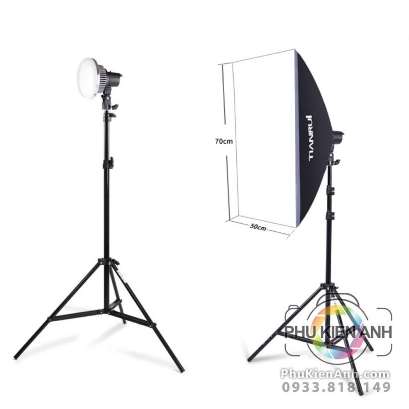 combo-den-led-82w-softbox-co-remote